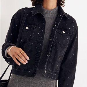 Madewell Cropped Boxy Jean Jacket
